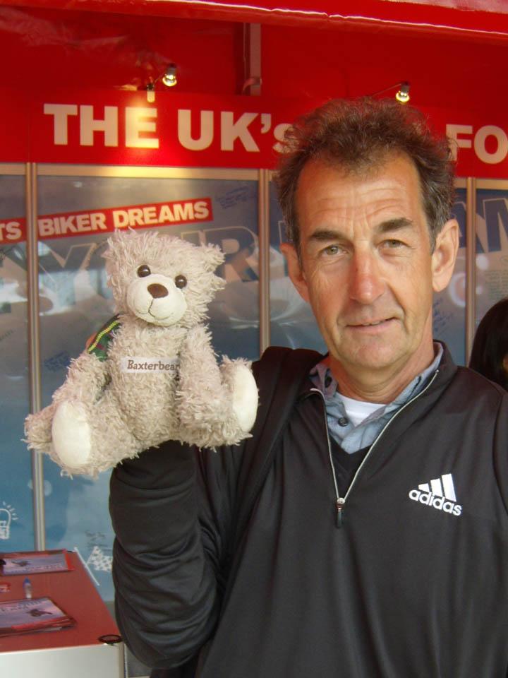 Steven Parrish, Motorsport Legend, BBC Commentator