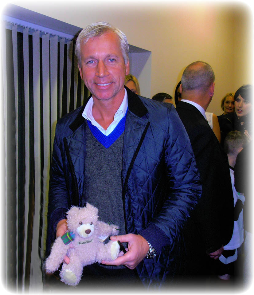 4 Alan Pardew, Manager of Newcastle United