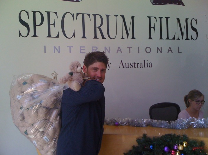 Josh Pomeranz, MD of Spectrum Films Sydney, Australia.