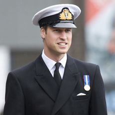 Prince William visits HM Naval Clyde