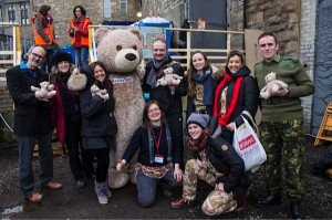 Group Photo of Cool Crew and Joel Mason with Baxterbears