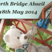 Baxterbear Abseils Forth Rail Bridge