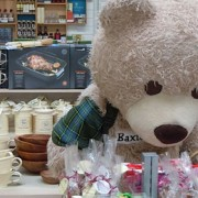 Hopetoun House Farm Shop Baxterbear returns