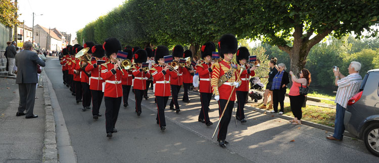 Day 4: Coldstream Guards on Parade in France