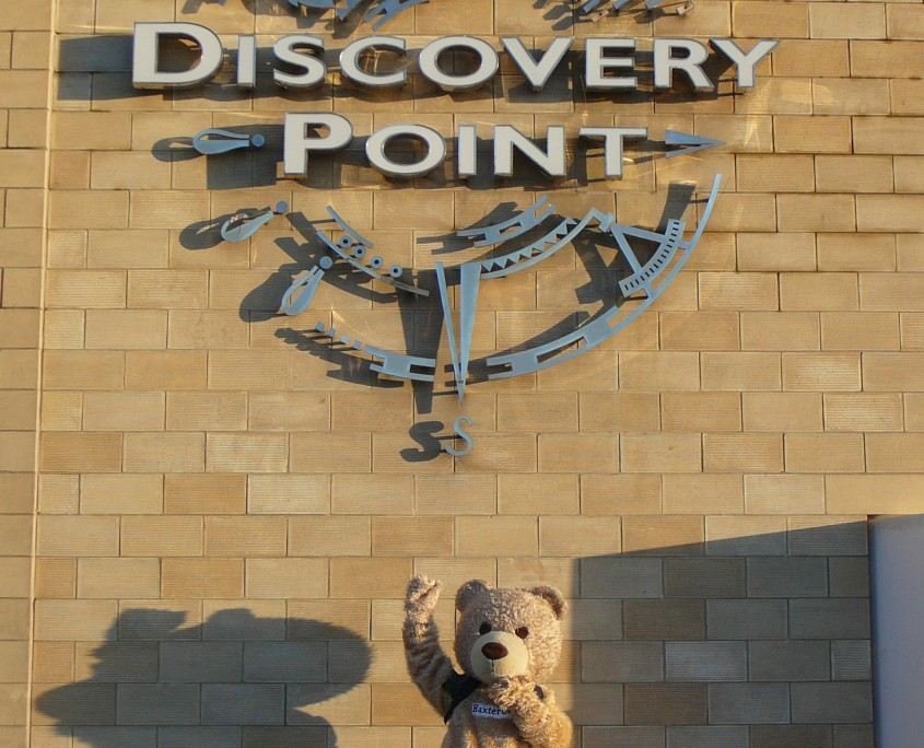 Baxterbear at Discovery Point Dundee
