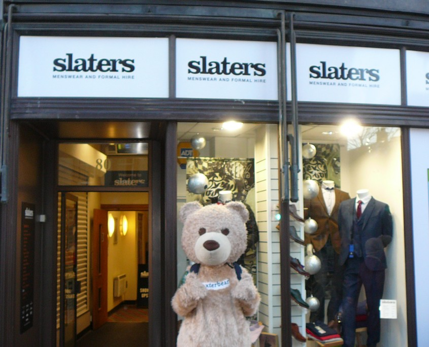 Outside Slaters Dundee