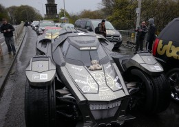 Baxterbear at the Gumball 3000 with team Galag