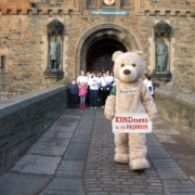 Baxterbear at Edinburgh Castle