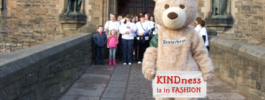 Baxterbear at Edinburgh Castle